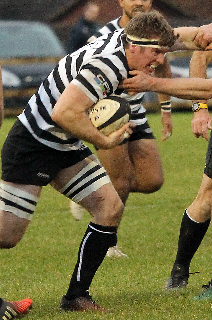 Alex Waddingham returns to Chinnor's back row Picture: Ric Mellis