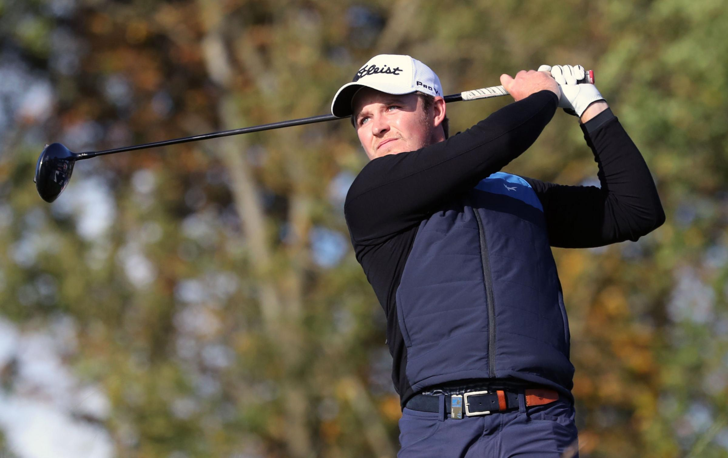 NOMINATED: Eddie Pepperell is shortlisted for sportsman of the year