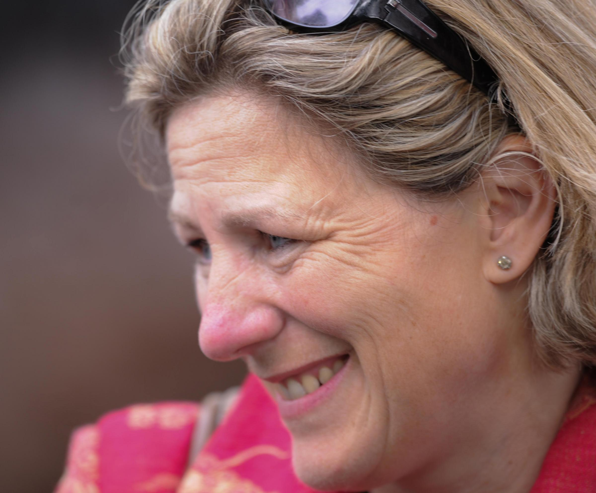 Eve Johnson Houghton is Britain's leading female trainer for a second year