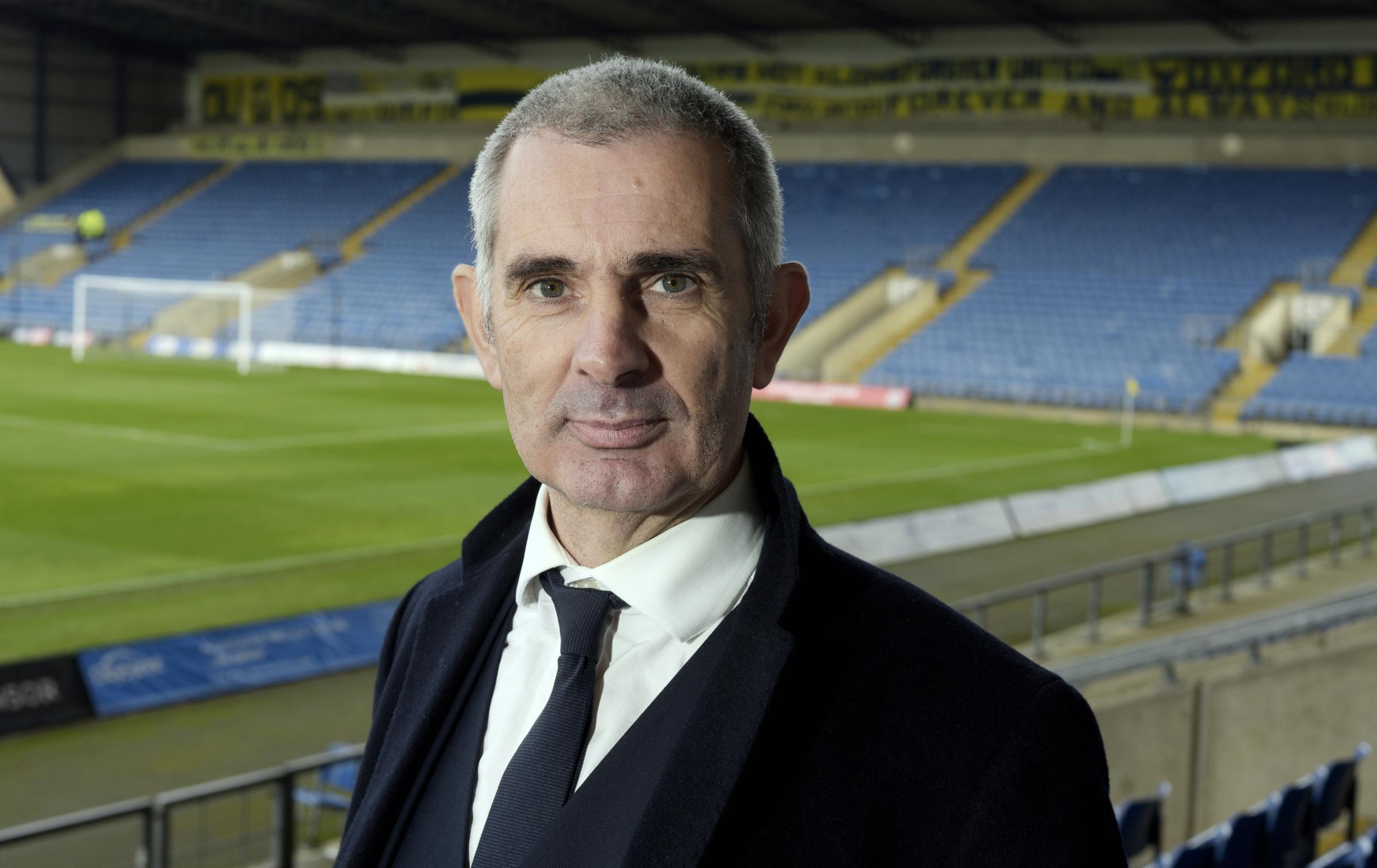 CHALLENGE: Oxford United's new managing director Niall McWilliams Picture: David Fleming