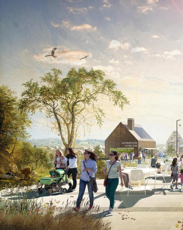 Herald Series: Harrington artist's impression. Image: LDA Design