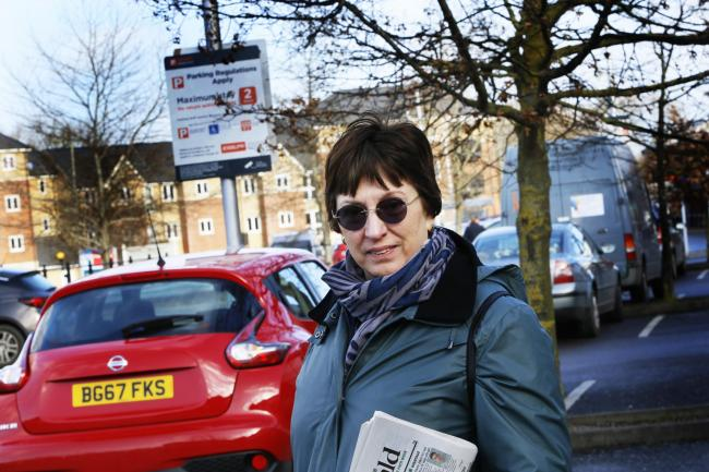 Julie Mabberley of the Wantage and Grove Campaign Group. Picture: Ed Nix