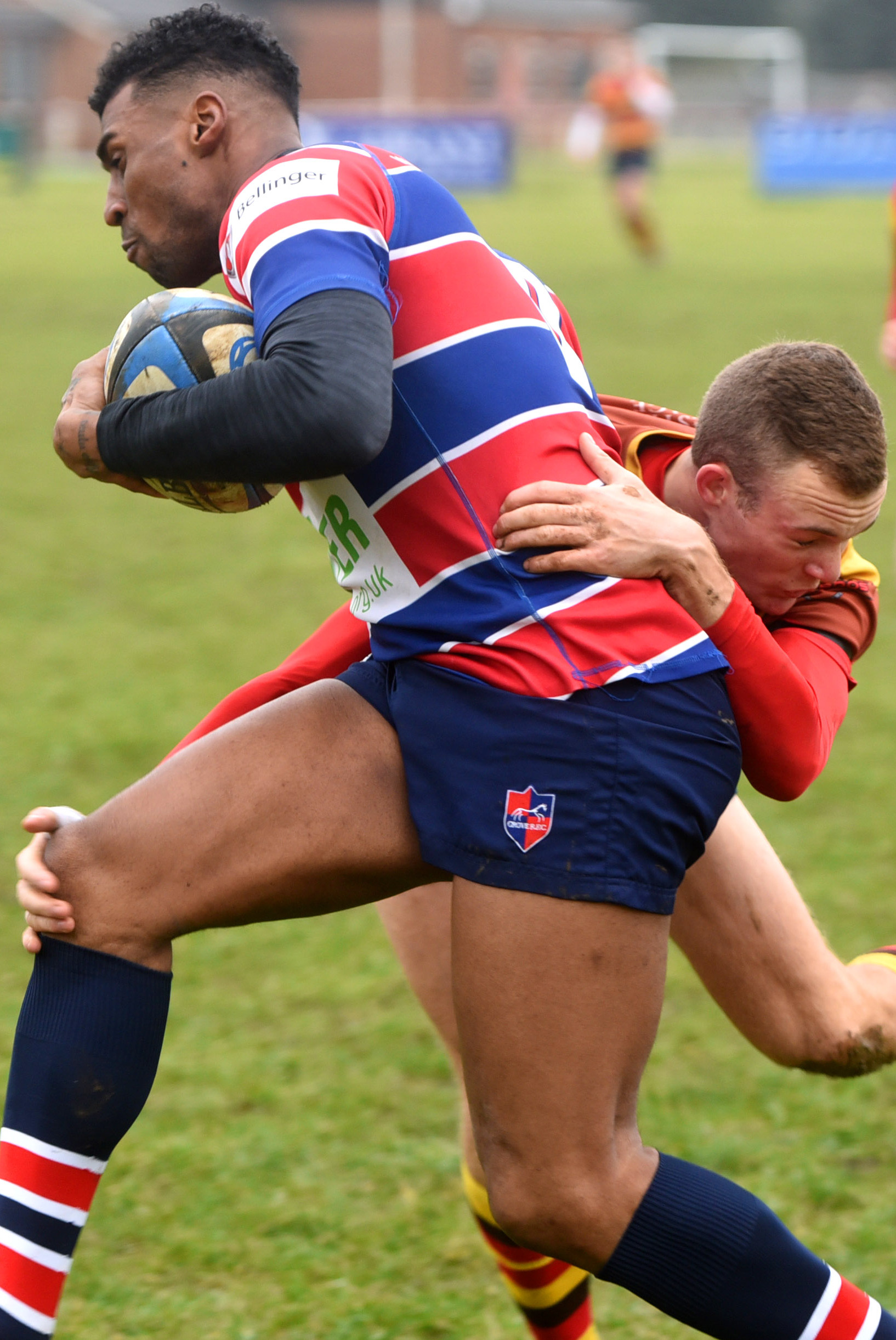 PACE: Benny Davies, who scored three tries in January, starts on the wing as Grove take on Witney at Hailey Road
