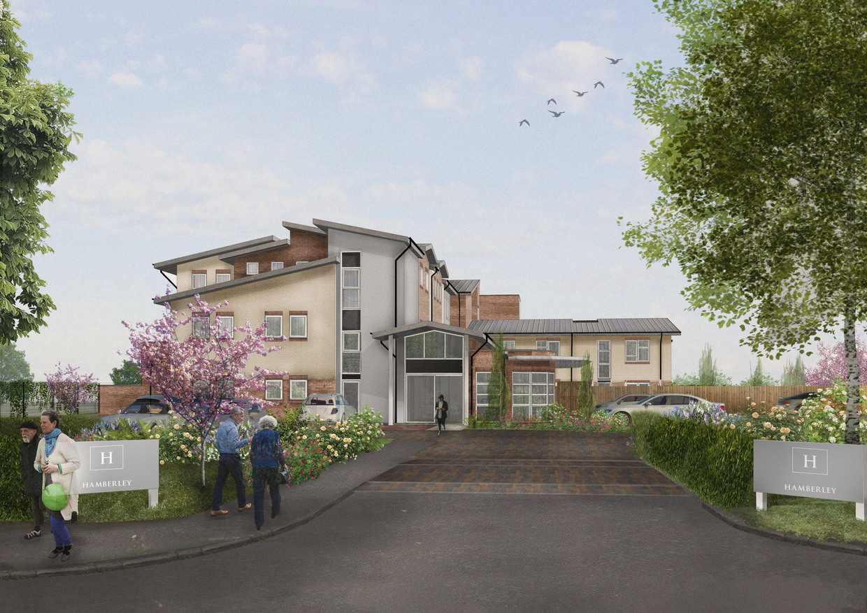 An artist's impression of the new Cumnor Hill care home. Picture J Tomlinson
