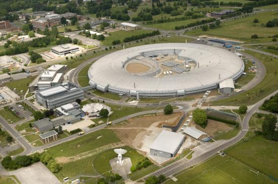 Aerial view of the Diamond Light Source, at the Rutherford Appleton Laboratory on the Harwell Science & Innovation campus in Oxfordshire, 12th June 2010.