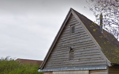 Part of Fison Barn in Little Wittenham. Pic: Google Street View