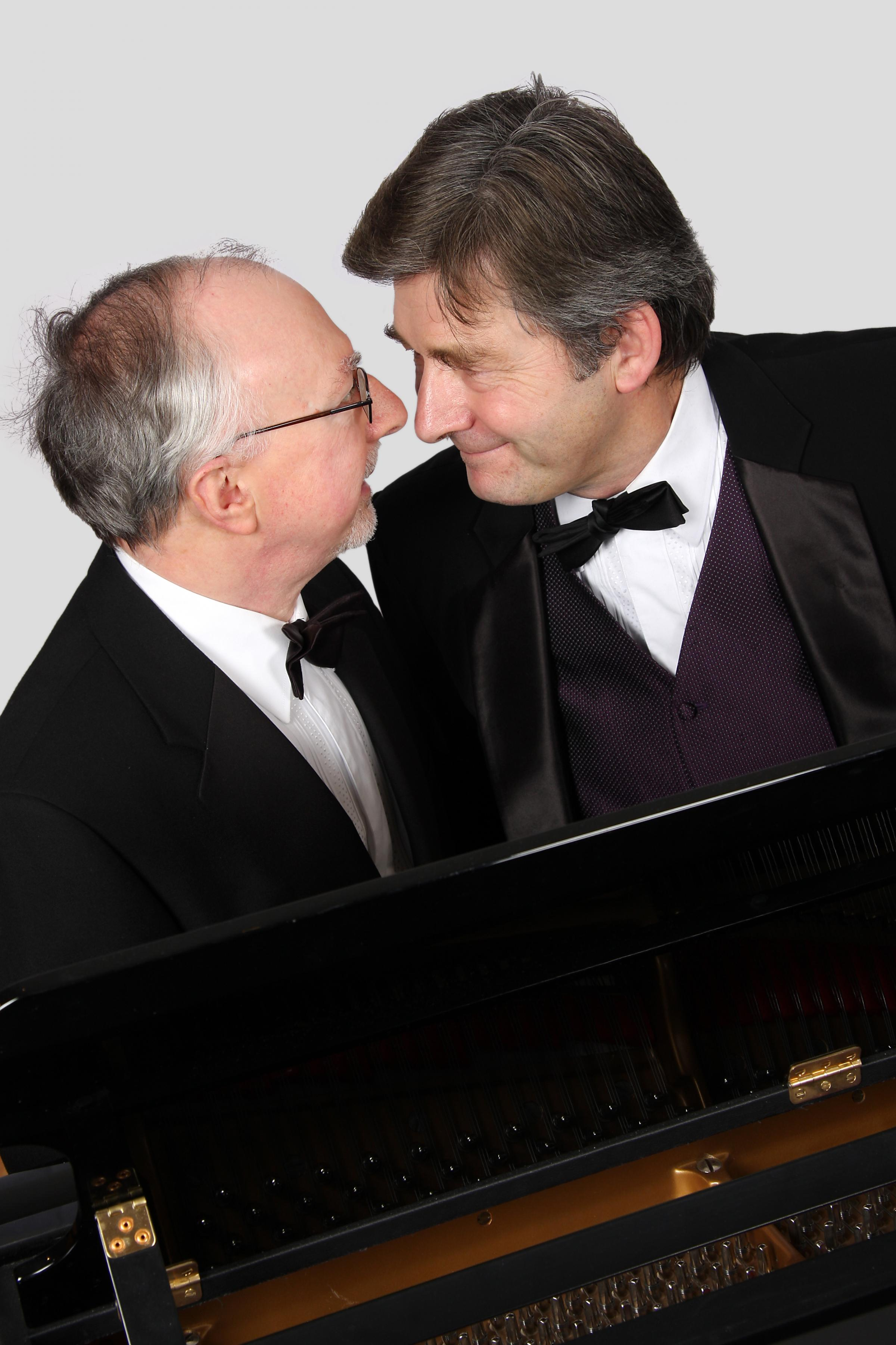 Two Blokes and a Piano: James Mitchell and Grahame O'Connor