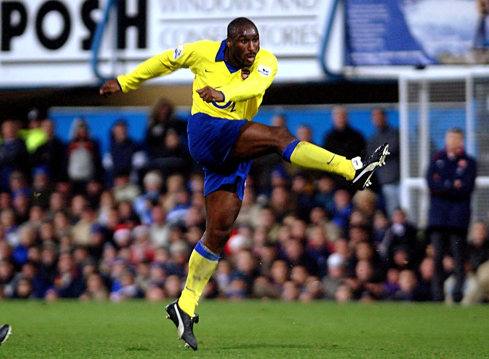 Sol Campbell, pictured playing for Arsenal in 2004, was unsuccessful in applying to become Oxford United's next manager Picture: Sean Dempsey/PA
