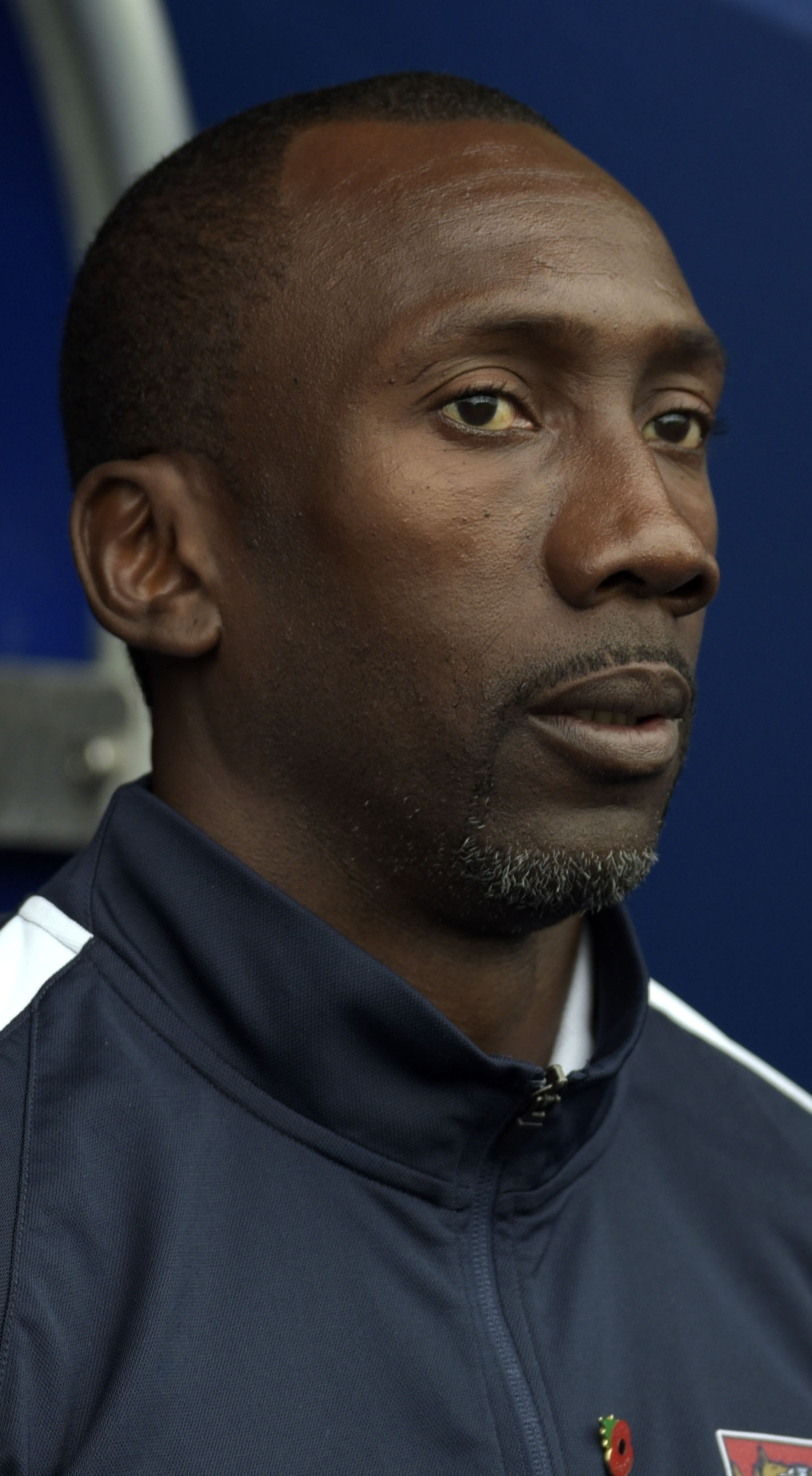 Northampton Town manager Jimmy Floyd Hasselbaink Picture: David Fleming