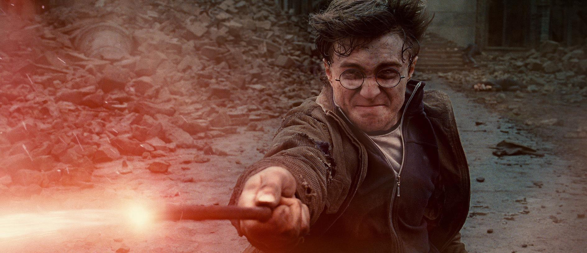 Harry Potter And The Deathly Hallows - Part 2.