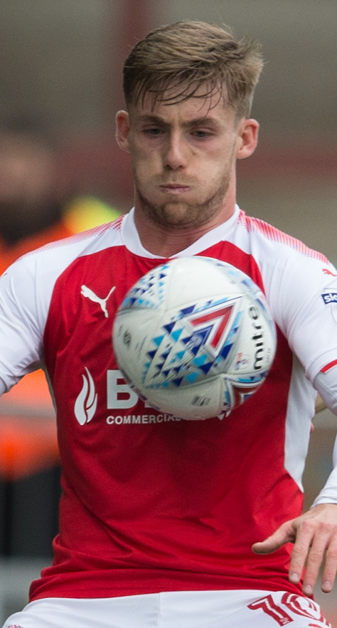Conor McAleny in action for Fleetwood Town against Oxford United in October Picture: James Williamson