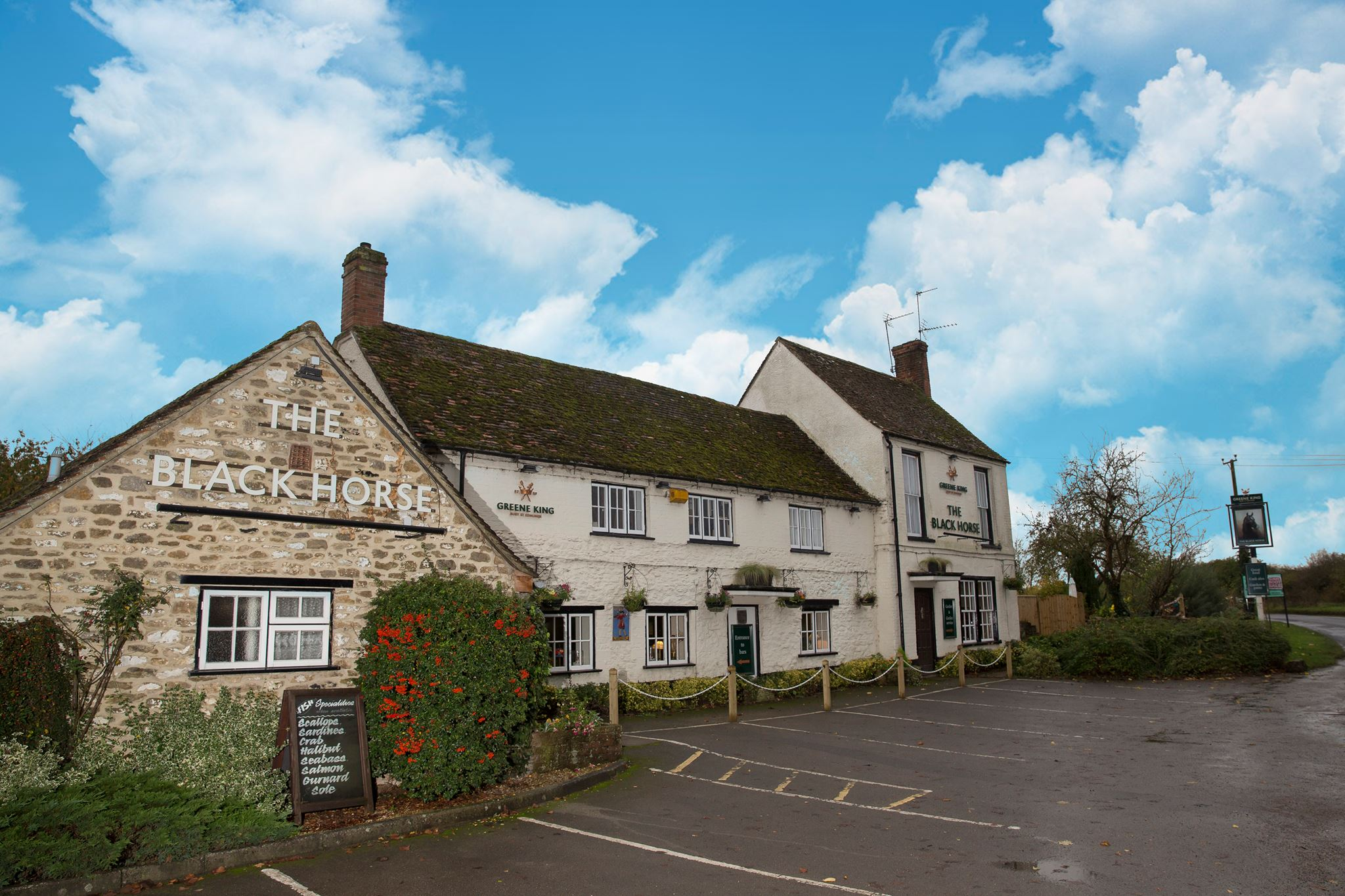 The Black Horse, Gozzards Ford