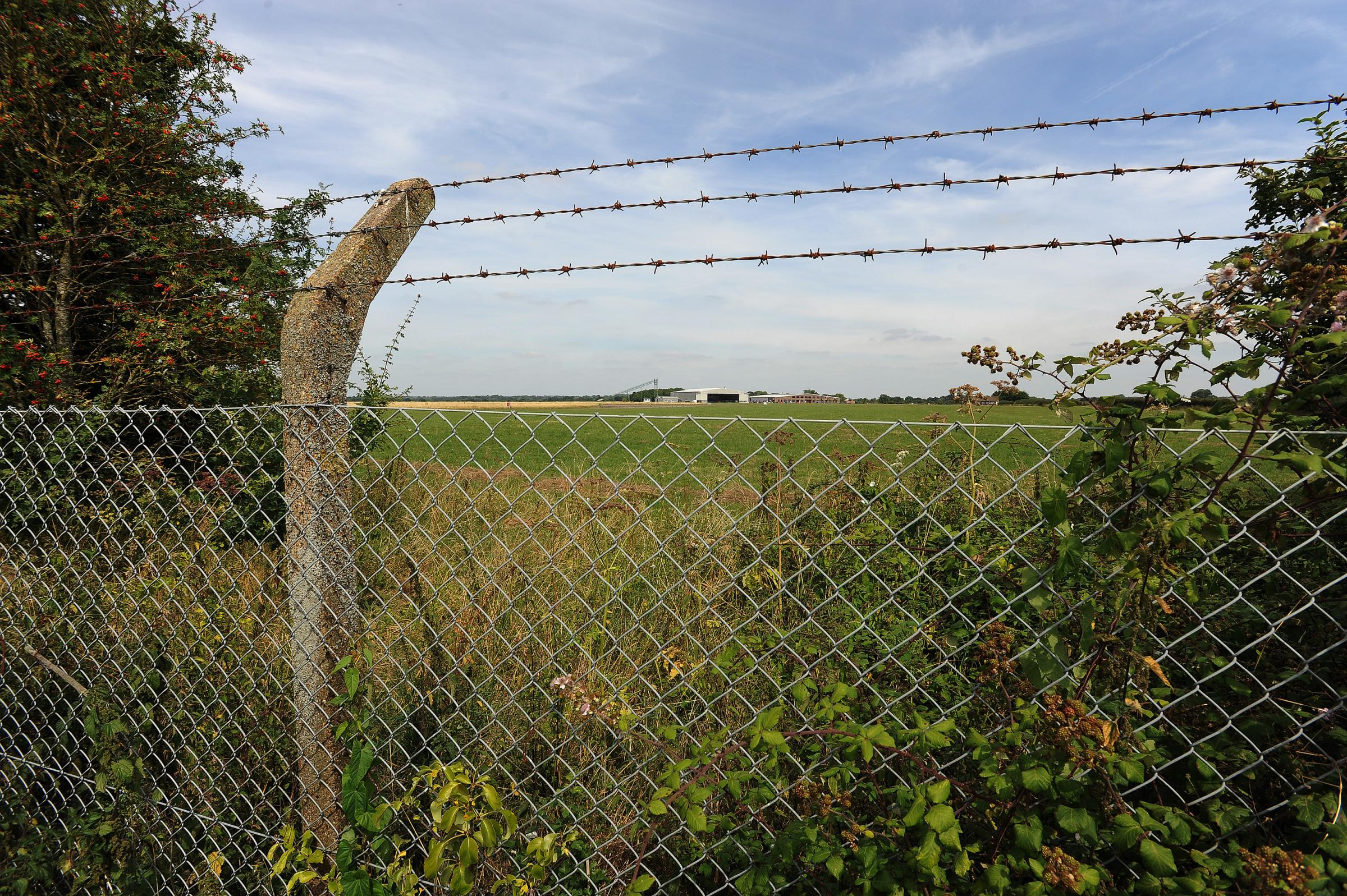 Chalgrove Airfield site, which could now be axed in Local Plan