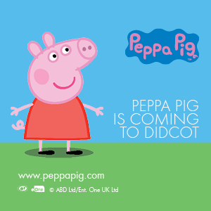 Peppa Pig - pic. courtesy of Orchard Centre