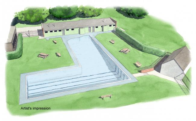 Artist's impression of Abbey Meadow revamp