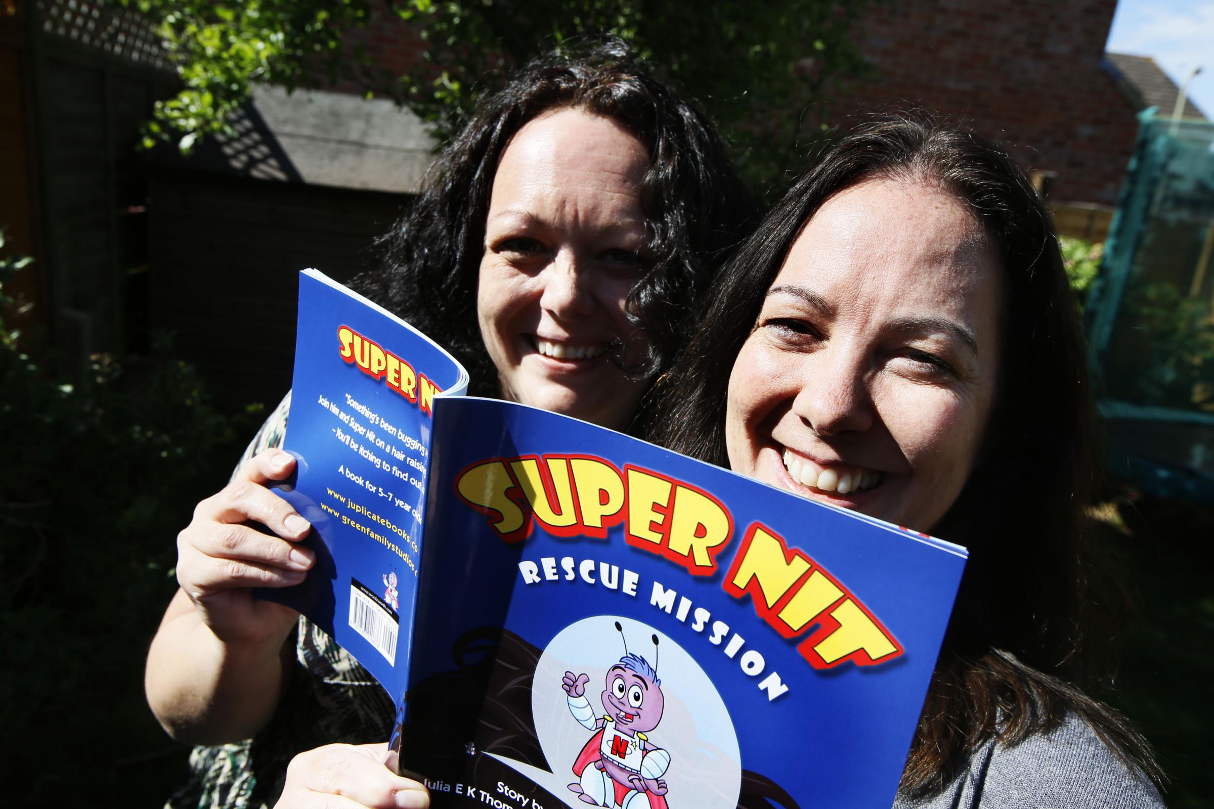 CREATIVE: Julia Thomas and Julia King have written a new book called Super Nit Picture: Ed Nix
