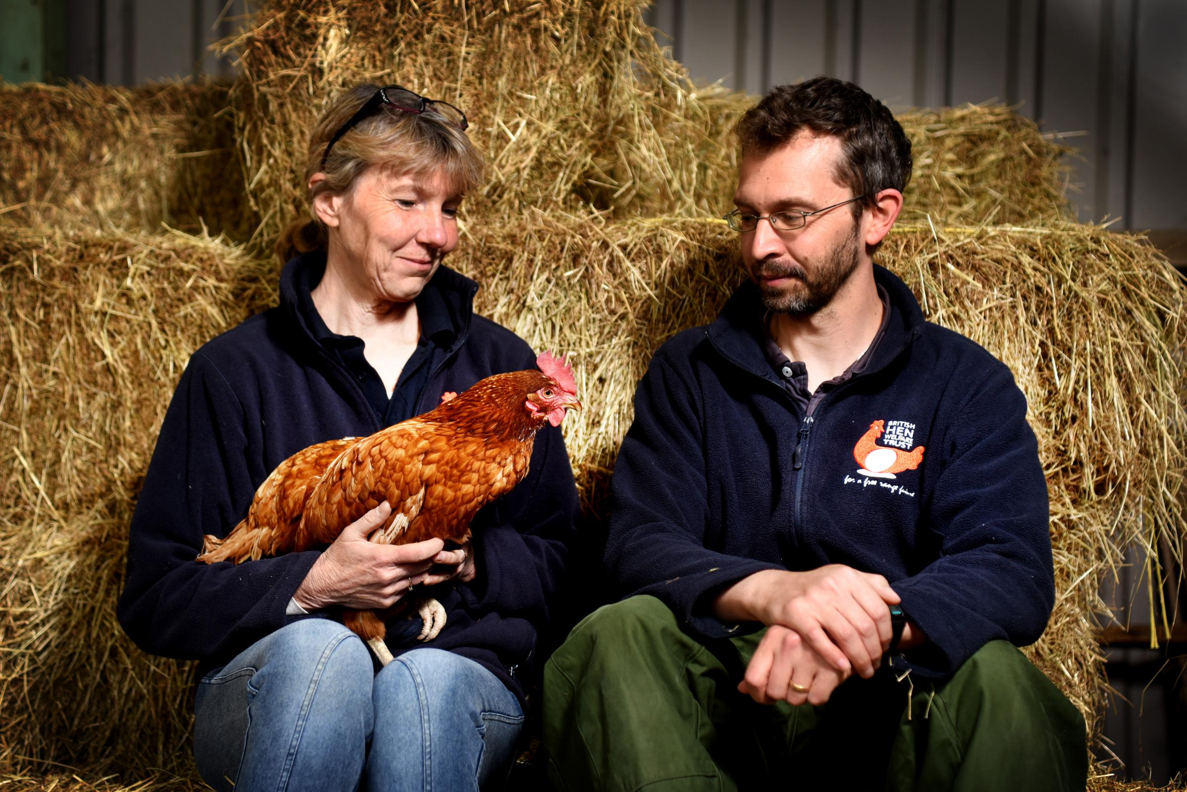 LANDMARK: Pictured at Willow Farm are volunteers Alison Vaughan and David Roberts. Picture by Richard Cave