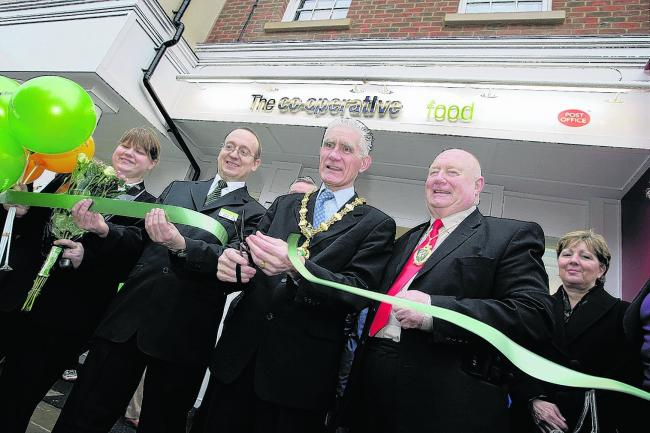 Co-op store opens doors to shoppers