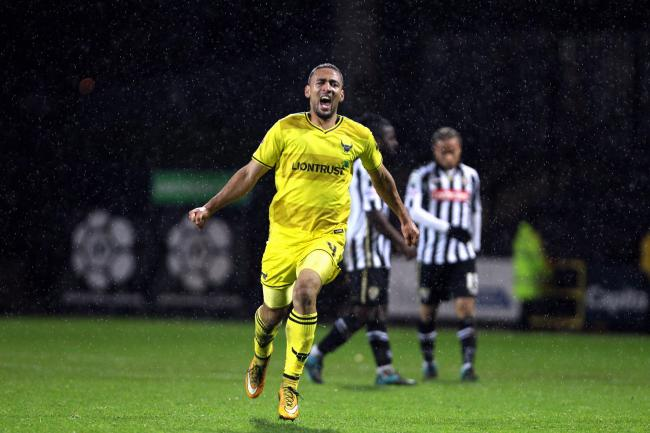 Kemar Roofe scored 26 goals for Oxford United during the 2015/16 season   Picture: Dan Westwell