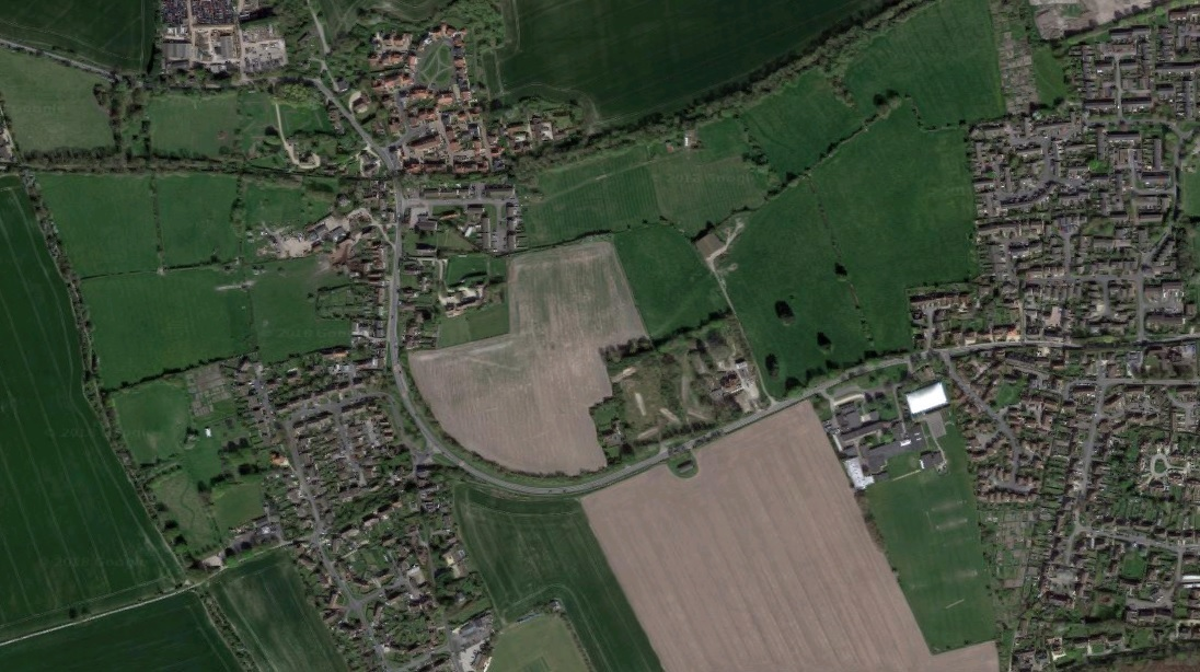 Park Farm, East Challow, aerial view. Picture: Google Maps