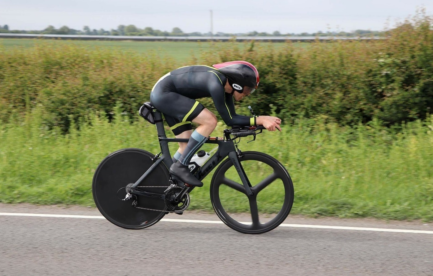 RIDING HIGH: Didcot-based Richard Gildea came third in the National 12-hour Time Trial Championship