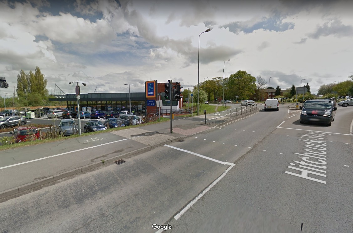 Station Road, near the Aldi store in Didcot is a site of particular concern. Picture: Google