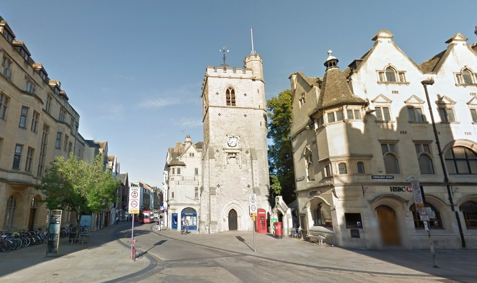 Carfax tower. Picture: Google Maps