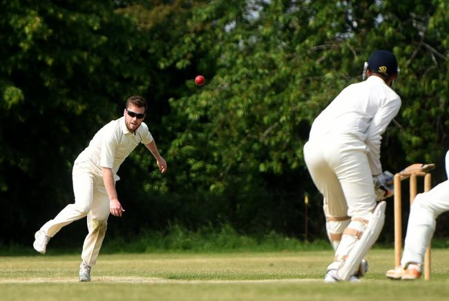 ALL-ROUND STAR: Ben Lucas took three wickets before top-scoring with 78 not out in reply as Stanton Harcourt beat Cairns Fudge by three wickets in Division 2