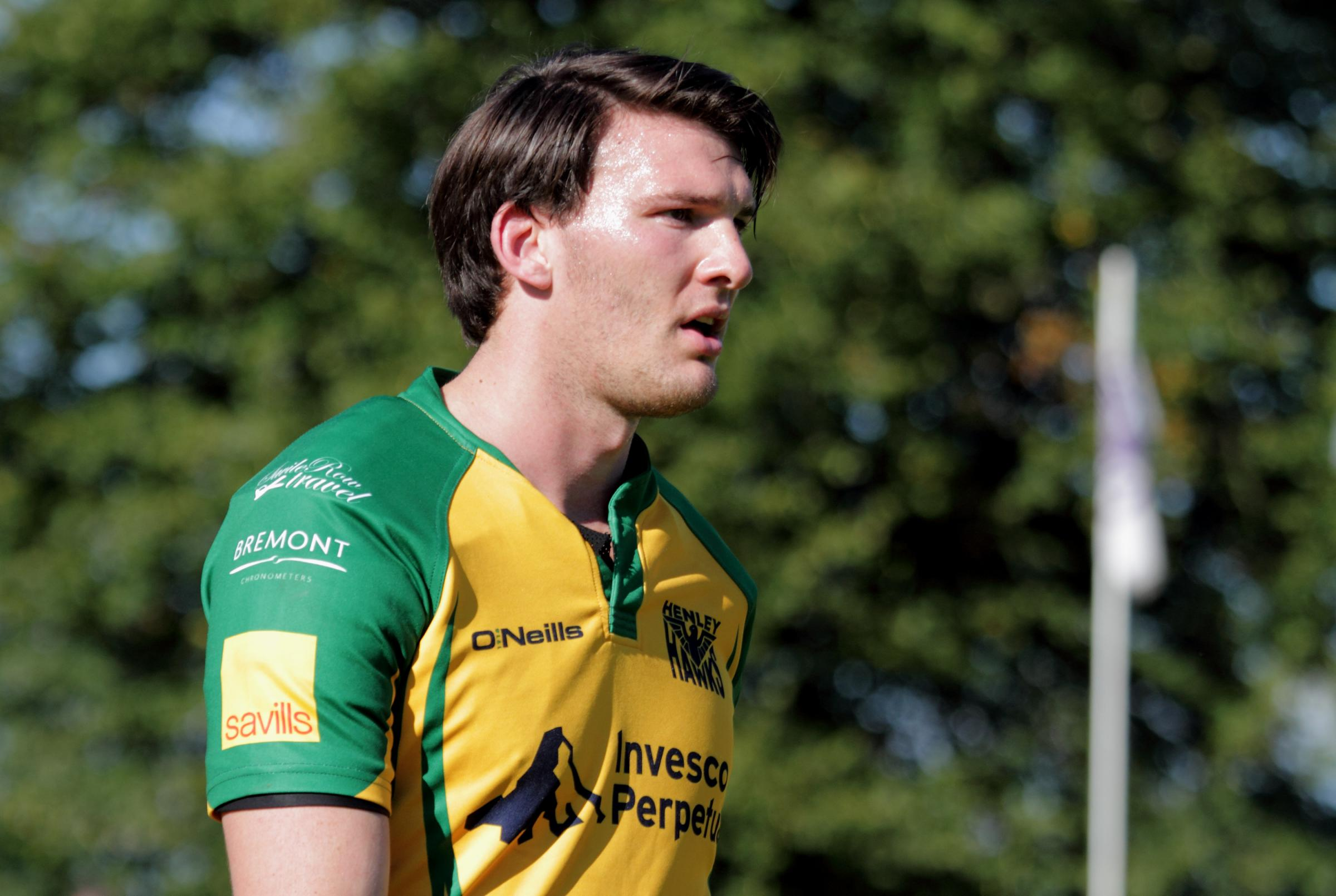 James Comben, pictured playing for Henley Hawks in 2015, has died after battling cancer Picture: Andy Fitzpatrick