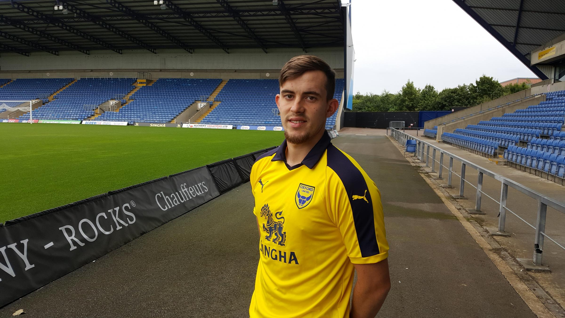 Jamie Hanson was one of three players Oxford United signed on transfer deadline day last August