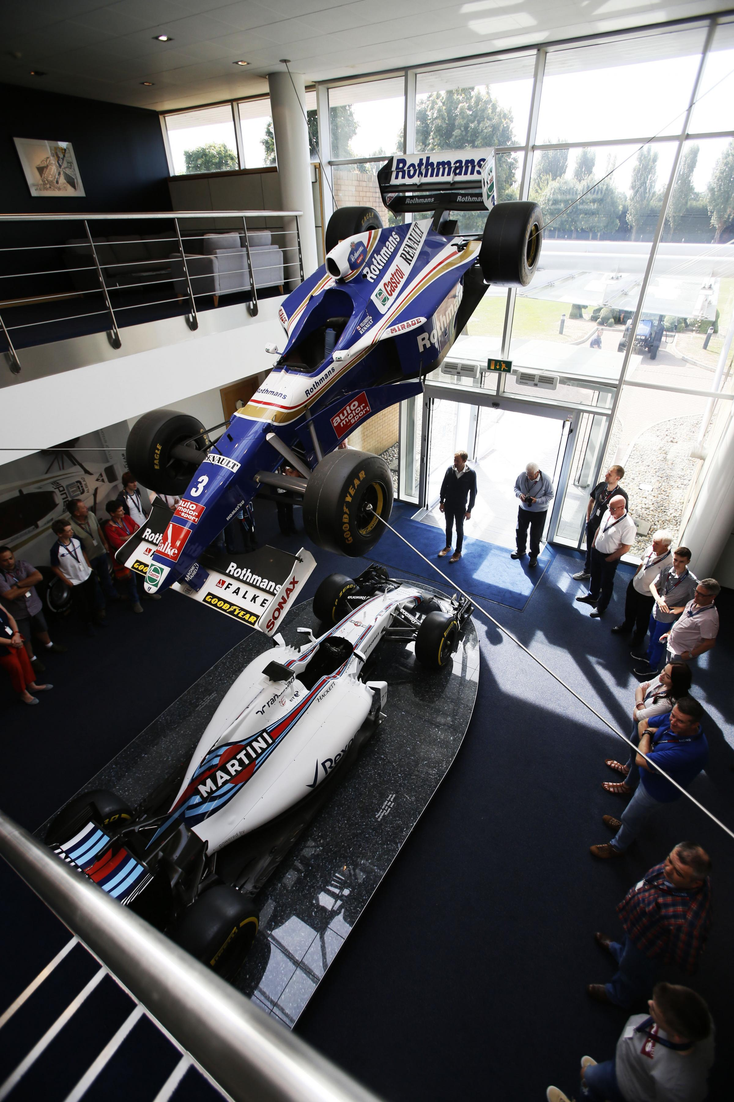 Williams F1 are hosting school holiday special heritage tours.