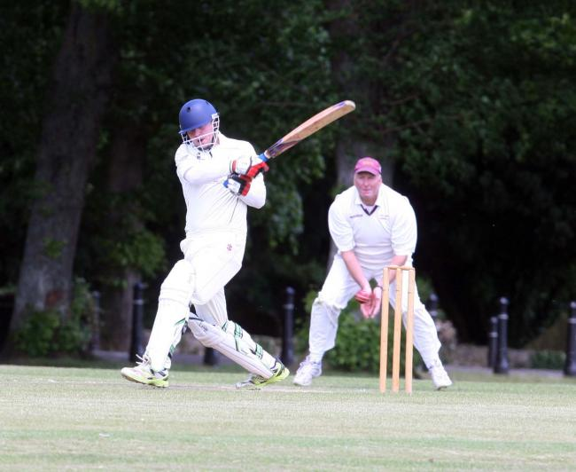 TOP SCORER: Kieran Foggett made 93 not out in Witney Swifts' victory over Yarnton & Cowley in Division 1 of the OCA League