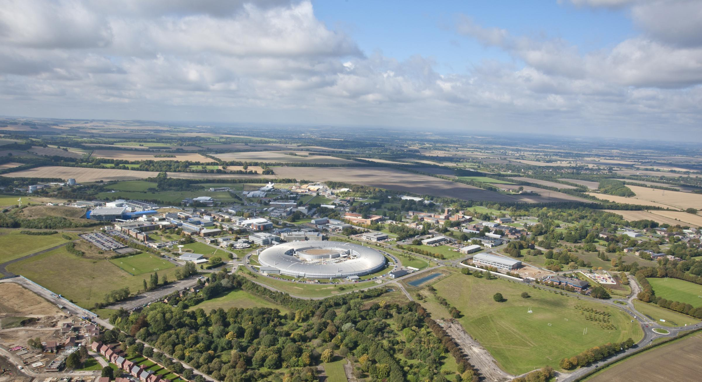 Harwell campus aerial view
