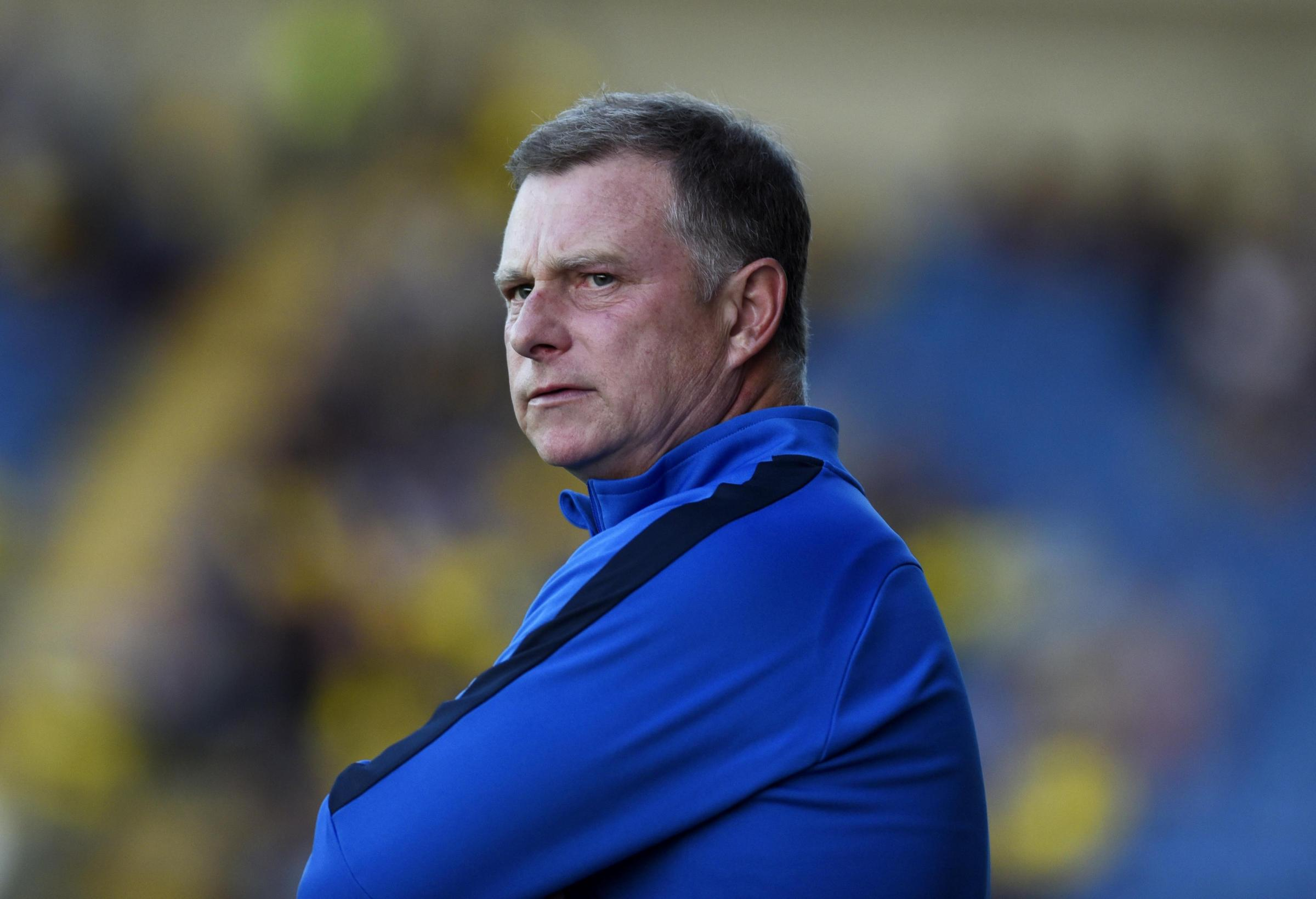 Coventry boss Mark Robins   Picture: David Fleming