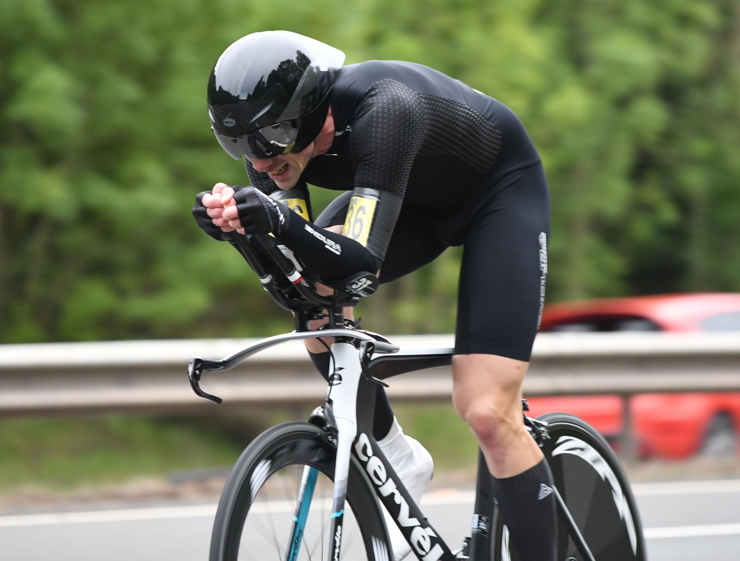 Didcot Phoenix cyclist Chris Boddy came joint fourth in national ten-mile time trial