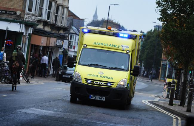 A SCAS ambulance. Pic by Jon Lewis