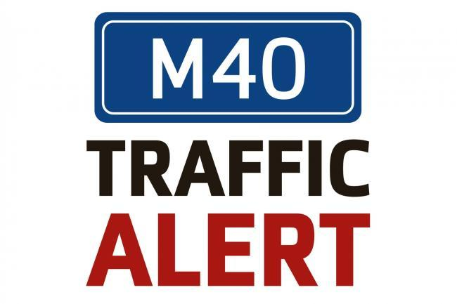 Serious crash causes delays on M40