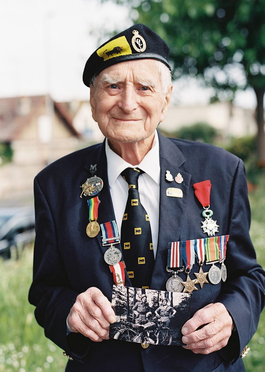 Oxfordshire veteran Bill Pendell has died, aged 97