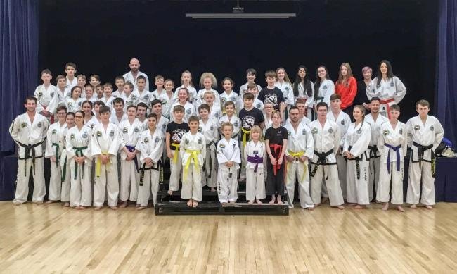 Vale TKD finished second in the national school standings for 2018