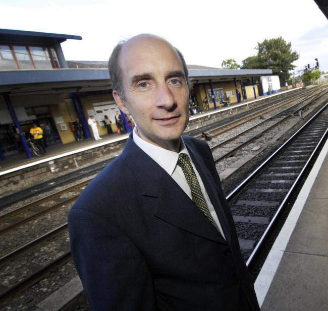 Lord Andrew Adonis at Oxford station in 2010. Picture by Richard Cave
