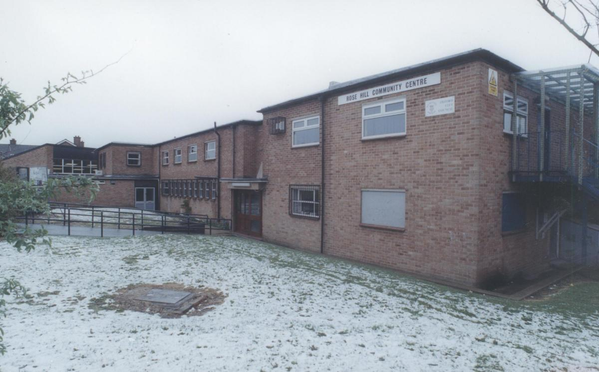 Former Rose Hill Community Centre