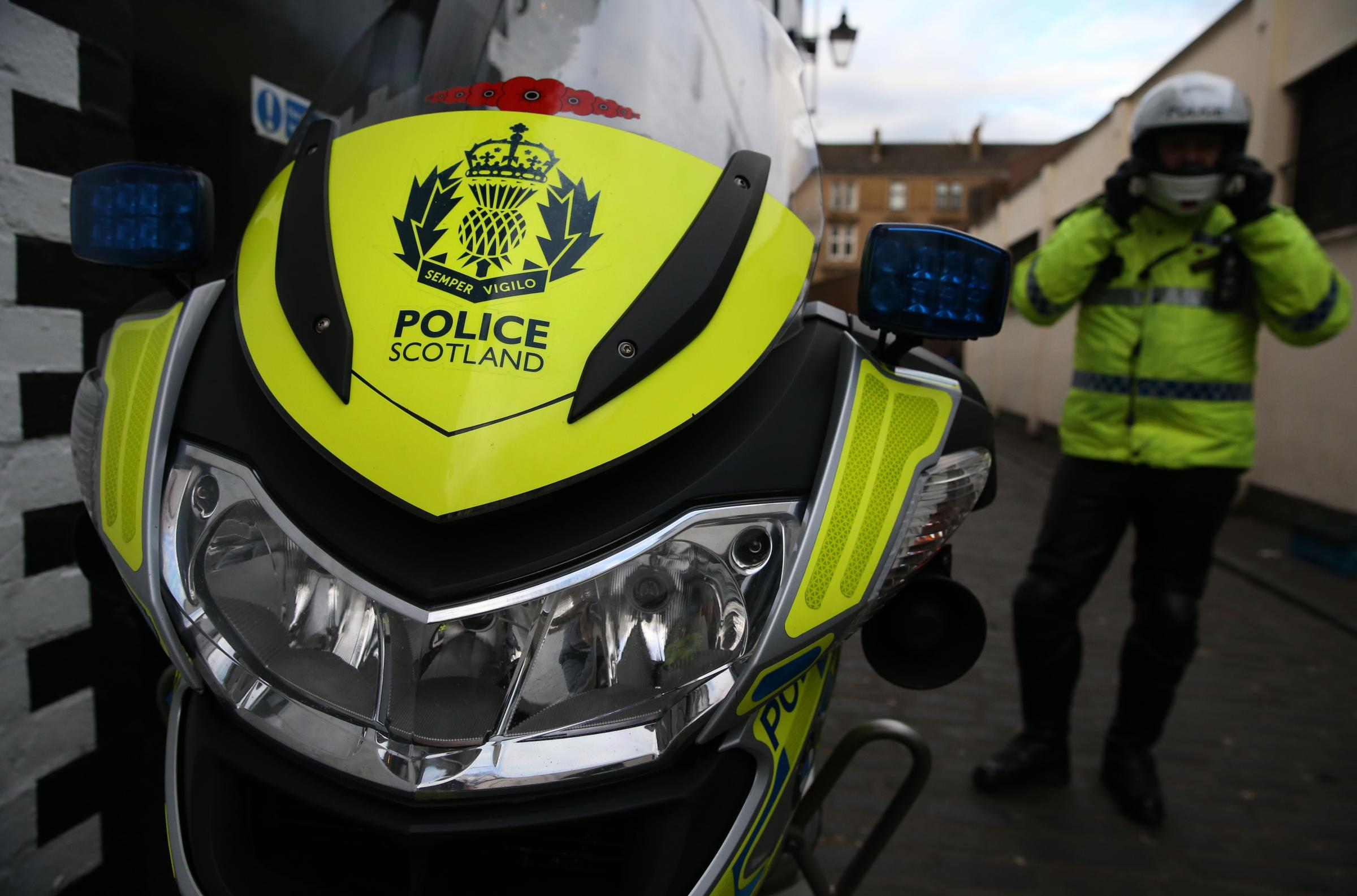 Police Scotland motorcycle