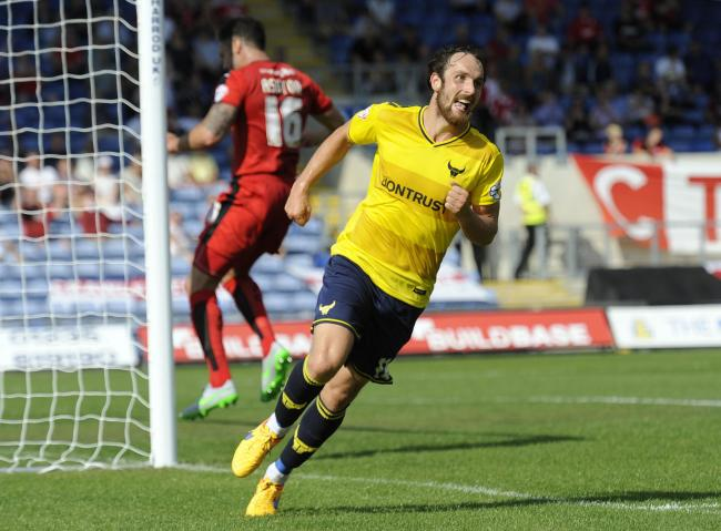 Danny Hylton scored 30 goals in two seasons for Oxford United