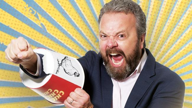 For laughs: Hal Cruttenden plays the Mind Comedy Gala