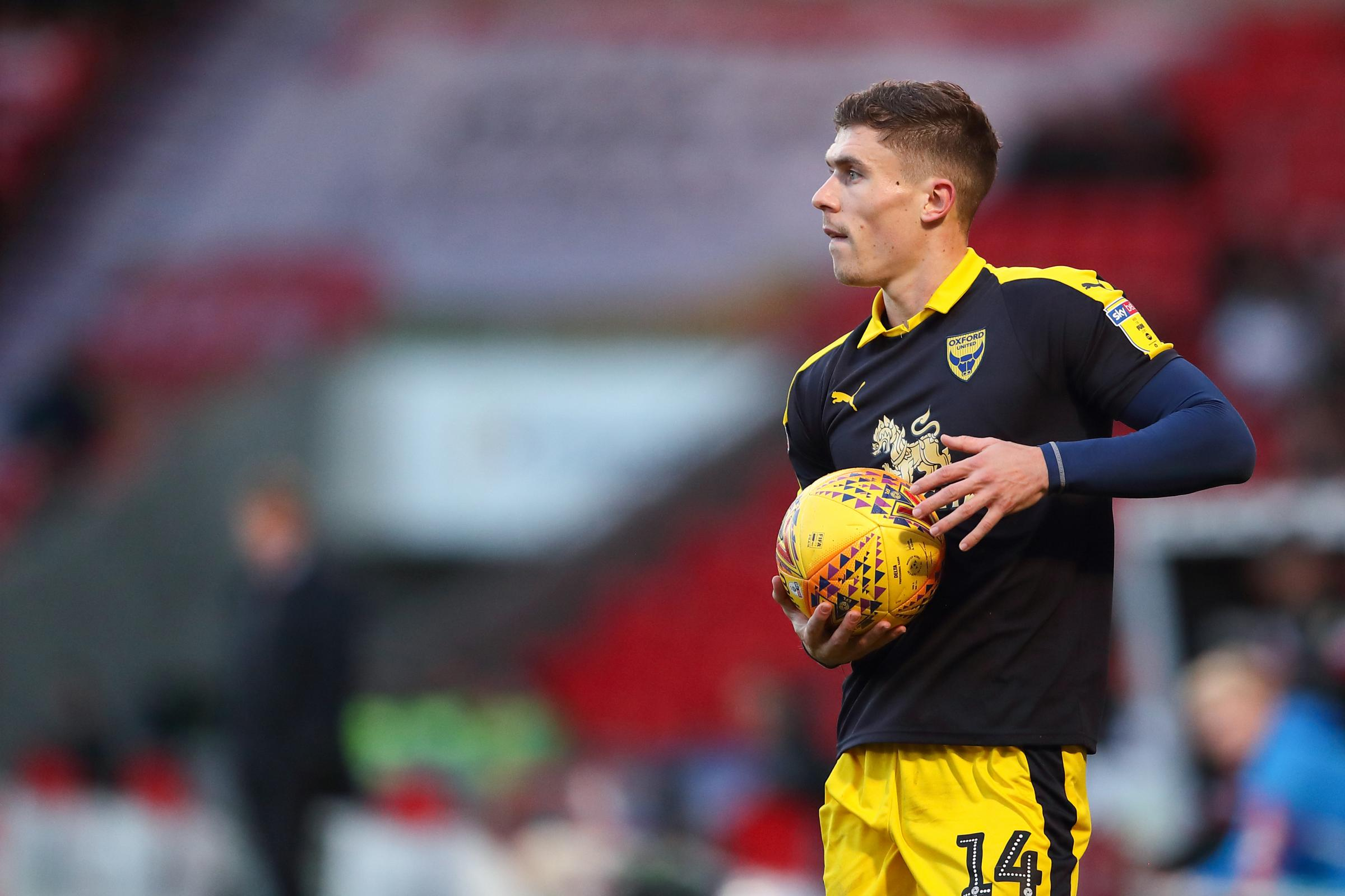 Josh Ruffels admits Oxford United's winless away run in League One has left the squad puzzled 	 Picture: James Williamson
