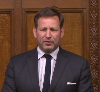 Ed Vaizey raised the issue of Grove station in a parliamentary debate today. Picture: Parliament.uk