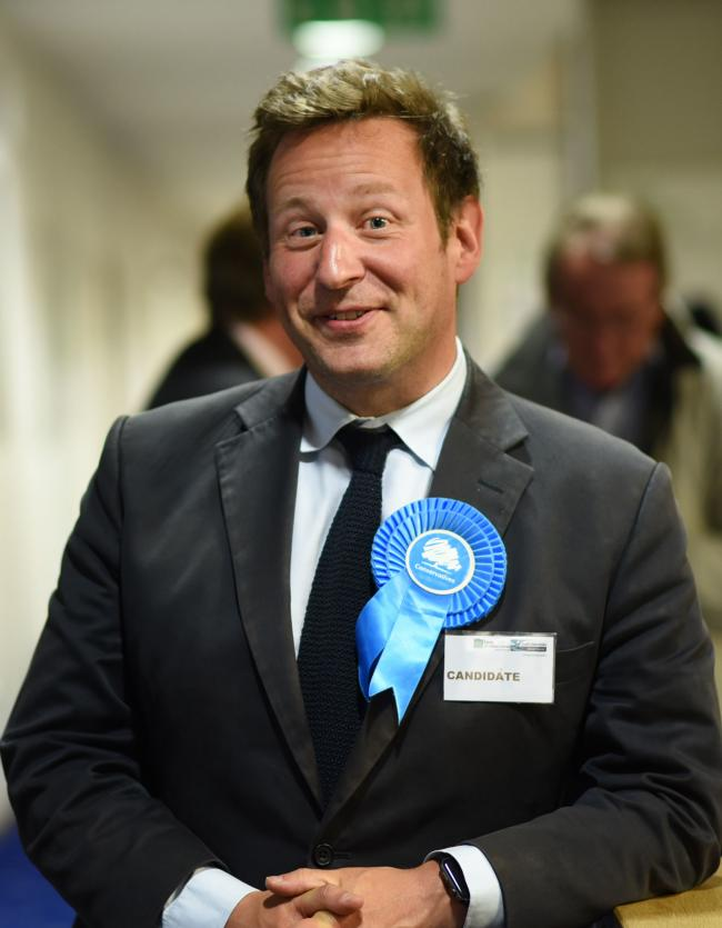 General Election Count..Oxford West & Abingdon, Henley and Wantage..Ed Vaizey...Picture Richard Cave Photography 08.06.17.