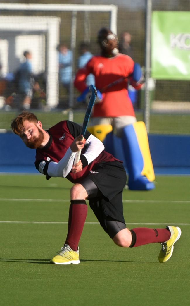 Freddie Foster scored Oxford Hawks' fourth goal in their 4-1 win over Olton & West Warwicks  Picture: Richard Cave