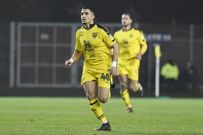 Ahmed Kashi keeps his place in Oxford United's starting line-up Picture: David Fleming