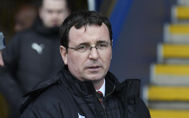 Bradford City boss Gary Bowyer said referee Andy Davies lost the plot Picture: David Fleming